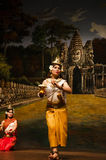 Apsara dansende 3 Royalty-vrije Stock Fotografie
