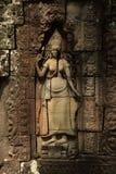 Apsara di Banteay Kdei Immagini Stock