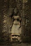 Apsara di Banteay Kdei Fotografia Stock