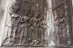 Apsara in Kambodscha Lizenzfreies Stockfoto