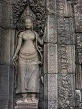 Apsara på Angkor royaltyfri bild
