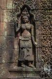 Apsara på vaten Phou fotografering för bildbyråer
