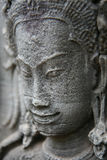 Apsara relief sculpture Royalty Free Stock Photography