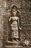 Apsara sculptures Royalty Free Stock Photography
