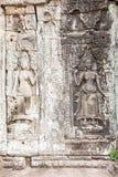 Apsara skulptur Royaltyfri Foto