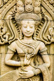 Apsara-Statue, chiangmai Thailand Lizenzfreie Stockbilder