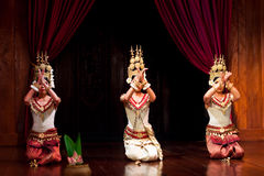 Apsara taniec, Kambodża obrazy stock