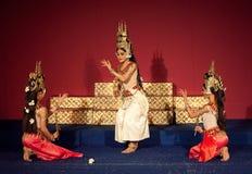 Apsara-Tanz-Show, Kambodscha stockfoto