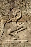 Apsara van Banteaykdei Royalty-vrije Stock Foto's