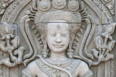 Apsara on the wall Royalty Free Stock Images