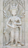 Apsara on the wall Royalty Free Stock Image