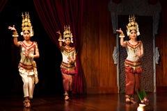 Apsaradans, Kambodja Stock Foto's
