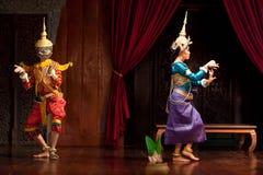 Apsaradans, Kambodja stock afbeeldingen