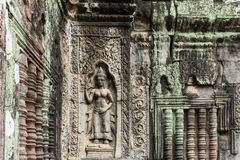 Apsaras σε Angkor Wat, Καμπότζη Στοκ Εικόνα