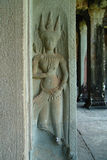 Apsaras на Angkor Wat Стоковые Изображения