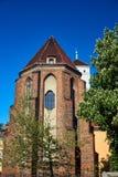 Apse γοτθική καθολική εκκλησία Στοκ Φωτογραφία