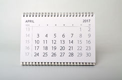 apse Ημερολόγιο του έτους δύο χιλιάες δεκαεπτά Στοκ Εικόνες