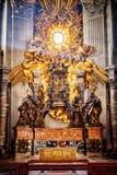 Apse της βασιλικής του ST Peter στη Ρώμη Στοκ Φωτογραφίες