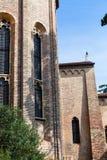 Apse της εκκλησίας του Eremitani στην Πάδοβα Στοκ εικόνα με δικαίωμα ελεύθερης χρήσης