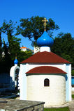 Apse της εκκλησίας του ST Theodore Ushakov σε Herceg Novi Στοκ Φωτογραφία