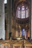 Apse του καθεδρικού ναού της Notre-Dame Στοκ εικόνα με δικαίωμα ελεύθερης χρήσης