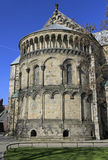 Apse του καθεδρικού ναού του Lund Στοκ Εικόνες