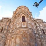 Apse του καθεδρικού ναού Monreale Στοκ φωτογραφία με δικαίωμα ελεύθερης χρήσης