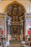 Apse του Duomo - της Αμάλφης Στοκ Εικόνες