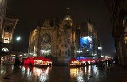 Apse av kupolen av Milan Arkivfoto