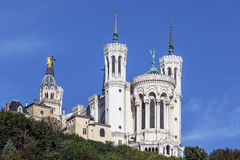 The apse of the basilica of notre dame de fourviere Royalty Free Stock Images