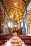 Apse of basilica of St. Peter's in Rome Royalty Free Stock Photography