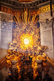 Apse of basilica of St. Peter's in Rome Stock Photo