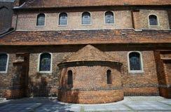 Apse in chiesa gotica Fotografie Stock