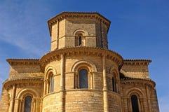 Apse of the church San Martin de Tours, Stock Photography