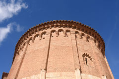 Apse with embedded columns Royalty Free Stock Photography