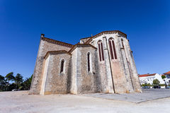 Apse exterior of the Santa Clara Church in the city of Santarem Stock Images
