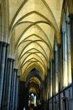 Apse in gothic cathedral royalty free stock image