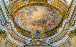 Apse In The Church Of The Jesus In Rome, Italy. Royalty Free Stock Images
