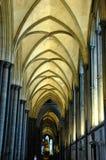 Apse na catedral gótico imagem de stock royalty free
