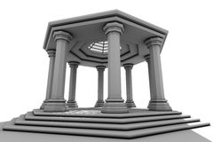 Apse octagonal Stock Images