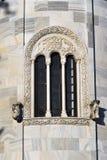 Apse Three-sided, monastério de Studenica fotografia de stock royalty free