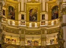 Apsis του καθεδρικού ναού της Γρανάδας Στοκ Εικόνες