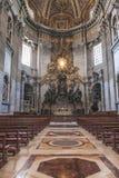 Apsis an St- Peter` s Basilika mit dem Stuhl von St Peter Stockfotos
