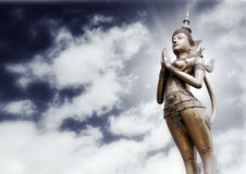 Apsonsi-thai statue Royalty Free Stock Photos