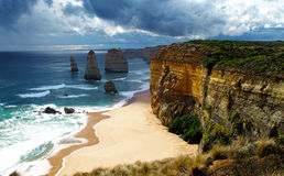 12 apóstolos, Austrália Imagens de Stock Royalty Free