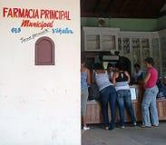 Apteka przy vignales, Kuba Fotografia Stock