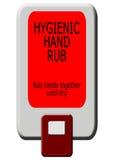aptekarki ręki higieniczny pocieranie Zdjęcia Stock