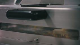 Apteki medycyny pigułki produkci konwejer zbiory wideo