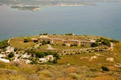 Aptera antico, Creta, Grecia Fotografie Stock Libere da Diritti
