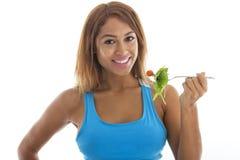 Aptidão: Comer saudável Fotografia de Stock Royalty Free